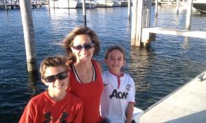 Jennifer and her boys